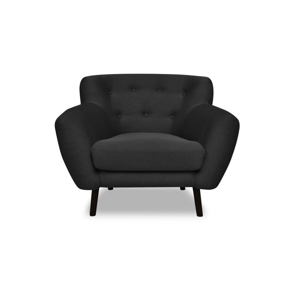 Ciemnoszary fotel Cosmopolitan design Hampstead