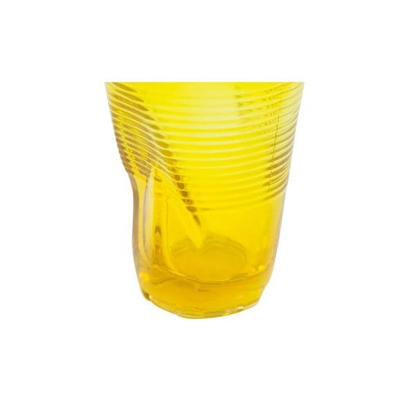 Zestaw 6 szklanek Kaleidos 340 ml, żółty