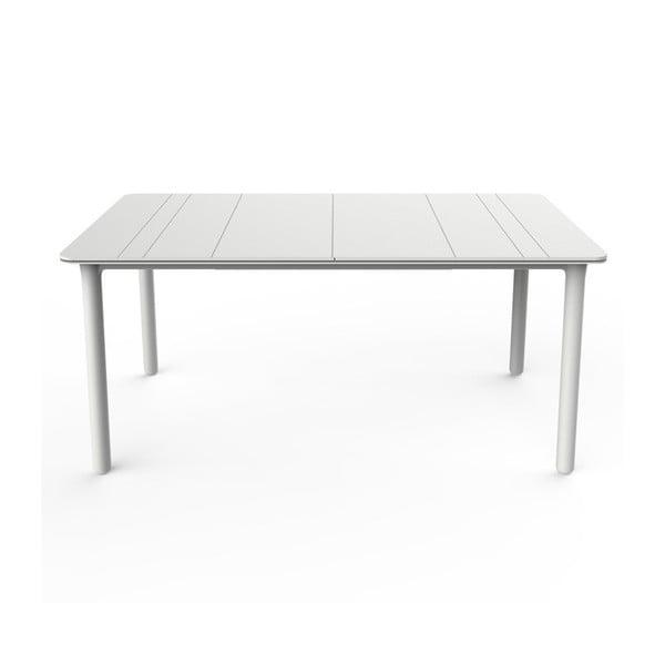 Biały stół ogrodowy Resol NOA, 160x90cm