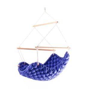 Fotel i huśtawka w jednym (do użytku zewnętrznego) Swingy Out, ciemnoniebieski