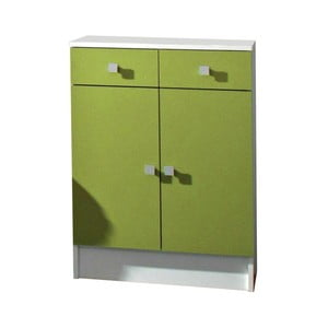 Zielona szafka łazienkowa 13Casa Click