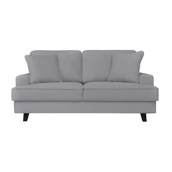 szara sofa dwuosobowa cosmopolitan design berlin bonami. Black Bedroom Furniture Sets. Home Design Ideas
