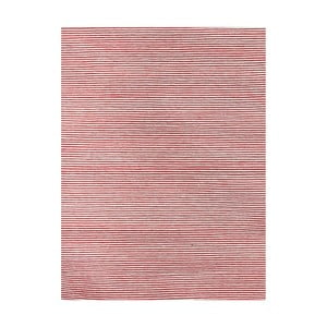 Wełniany dywan Casa Red/White, 160x230 cm