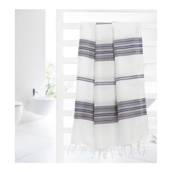 Ręcznik hammam Artemis Grey, 95x175 cm