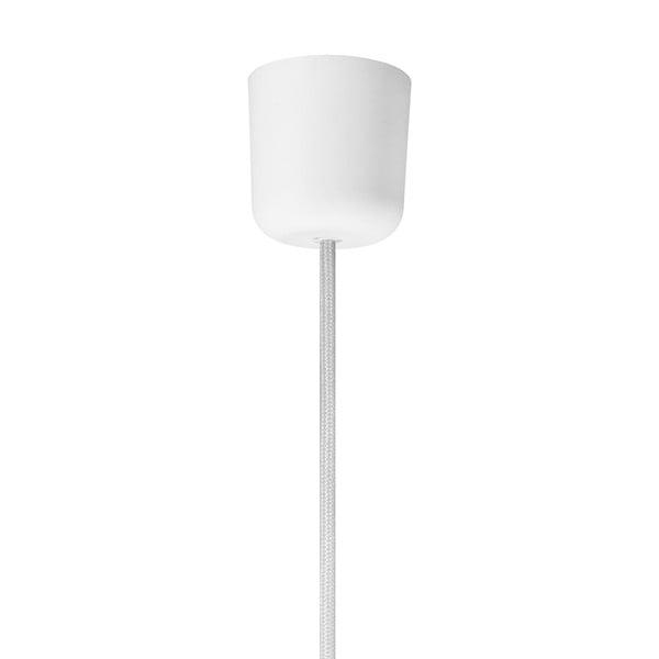 Biała lampa wisząca Sotto Luce Mika, Ø36 cm