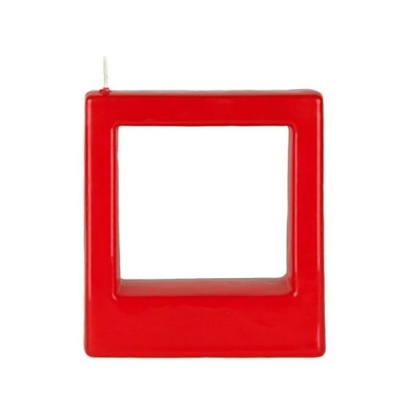 Świeczka Quadra 3 Red