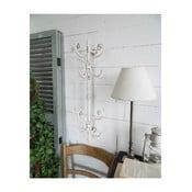 Biały wieszak ścienny Orchidea Milano Vintage