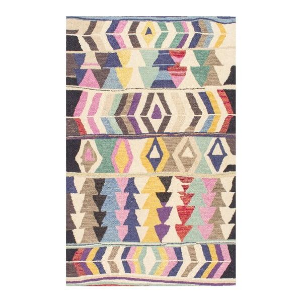 Wełniany dywan Aztec Multi, 152x244 cm