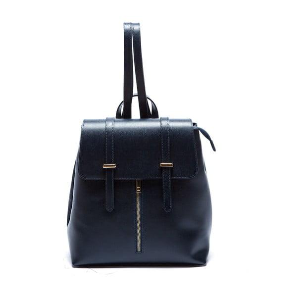 Niebieski skórzany plecak Sofia Cardoni Noemi