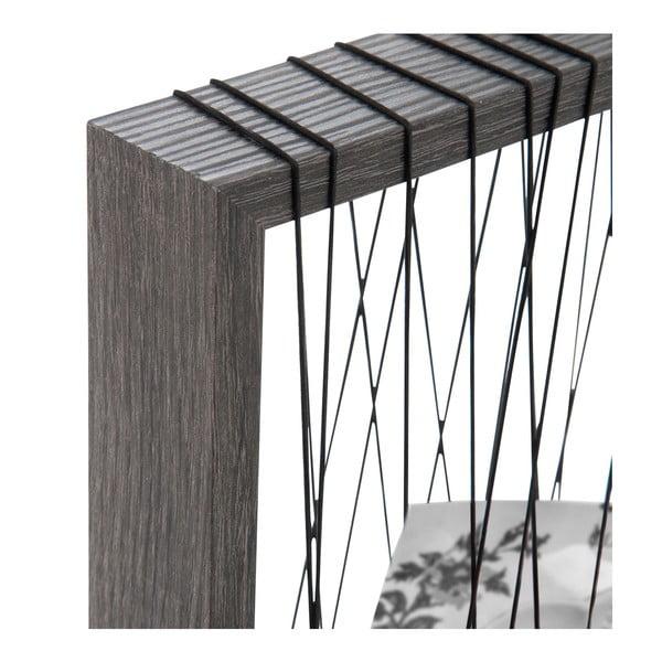 Sznurkowa ramka na zdjęcia J-line Rope Frame, 22x27 cm