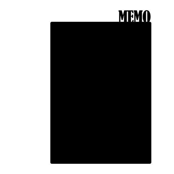 Dekoracyjna tablica samoprzylepna Memo