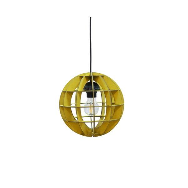 Lampa Sphere, żółta