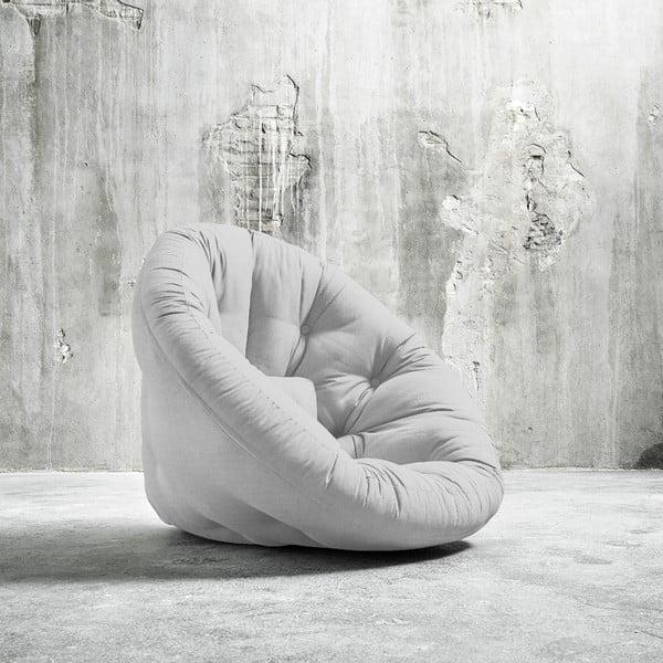 Fotel rozkładany Karup Nido Light Grey
