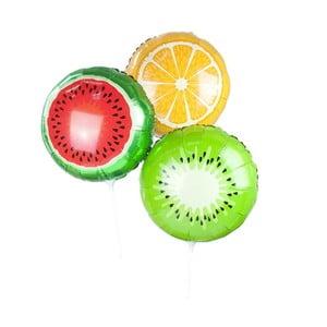 Zestaw 3 kolorowych balonów Talking Tables Fruit