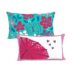 Dwustronna poszewka na poduszkę Moshi Moshi Cherry Blossom