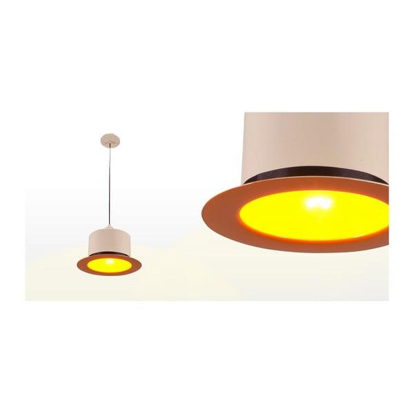 Lampa sufitowa Hat Cream/Orange