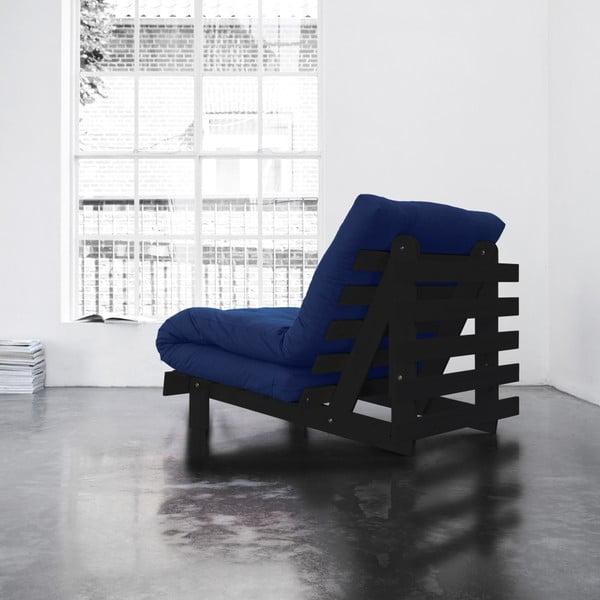 Fotel rozkładany Karup Roots Wenge/Royal