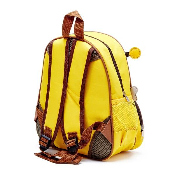 Dziecięcy plecak i walizka Pszczółka Barney