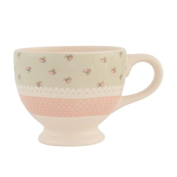 Ceramiczna filiżanka Clayre Roses, 200 ml