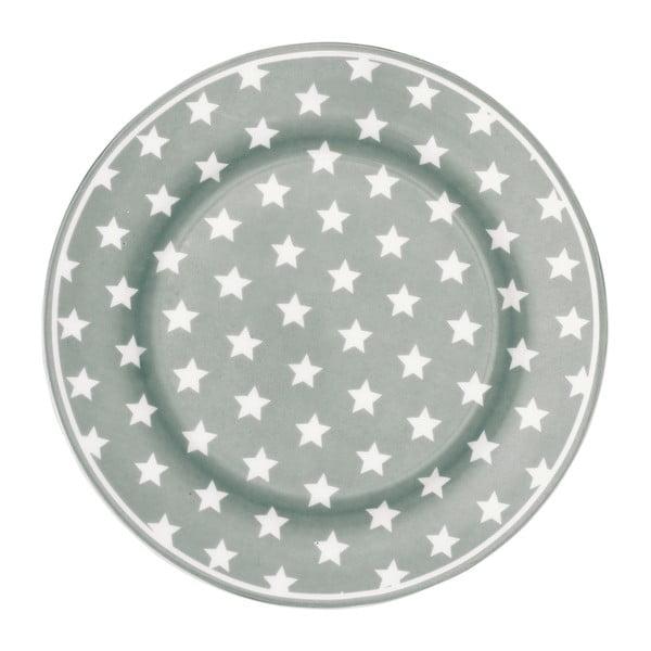 Talerz Star Grey, 20,5 cm