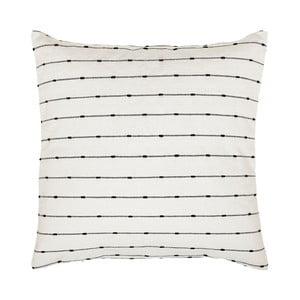 Czarno-biała poszewka na poduszkę A Simple Mess Kilde, 60x60cm