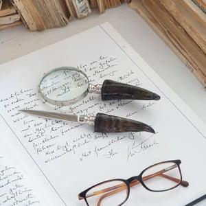 Zestaw lupy i nożyka do papieru Magnifique