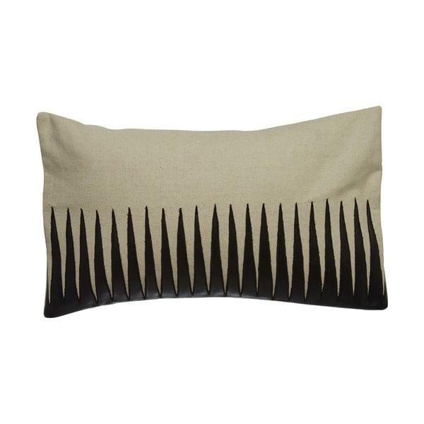 Poduszka s koženým efektem Premier Housewares Thorns, 33x60cm