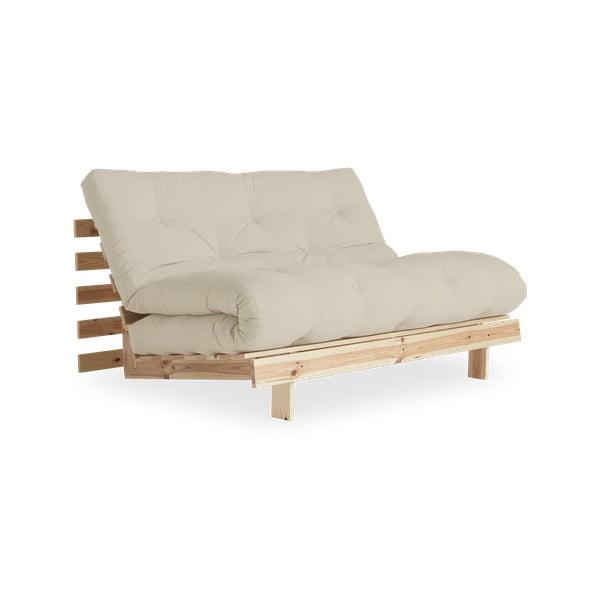 Sofa rozkładana Karup Design Roots Raw/Beige