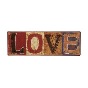Tablica Love, 43x12 cm