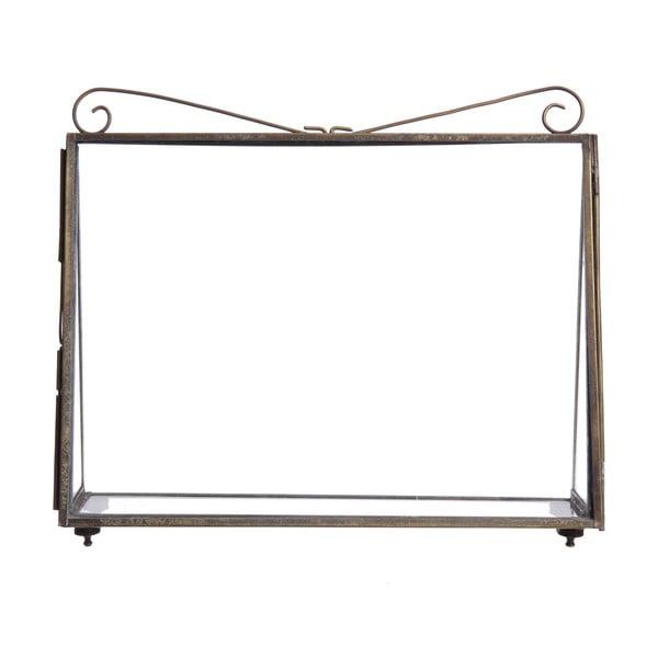 Ramka na zdjęcia Elegant Bronze, 17 cm