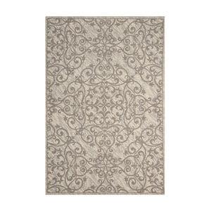 Dywan Nourison Damask Ivory Grey, 114x69cm