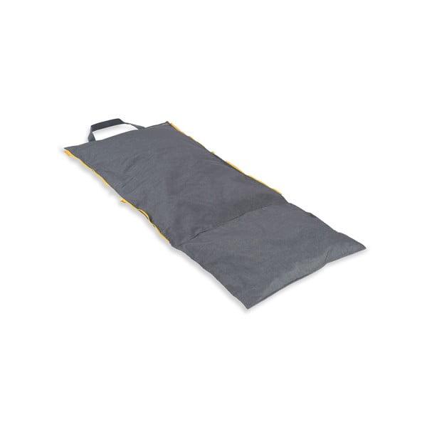 Przenośny leżak + torba Hhooboz 150x62 cm, szary