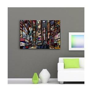 """Obraz na płótnie """"Time Square"""", 50x70 cm"""