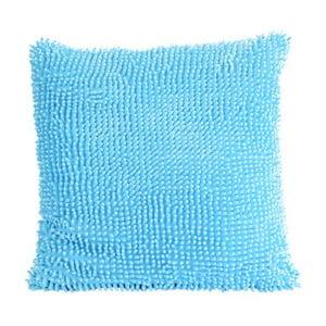 Kosmata poduszka, błękitna