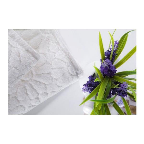 Zestaw 2 ręczników Samba Ecru, 70x140 cm i 50x90 cm
