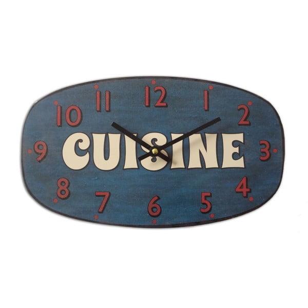 Zegar ścienny Cuisine Bleu