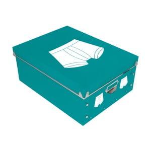 Pudełko na slipy/bokserki Incidence Picto, 34,5x26cm