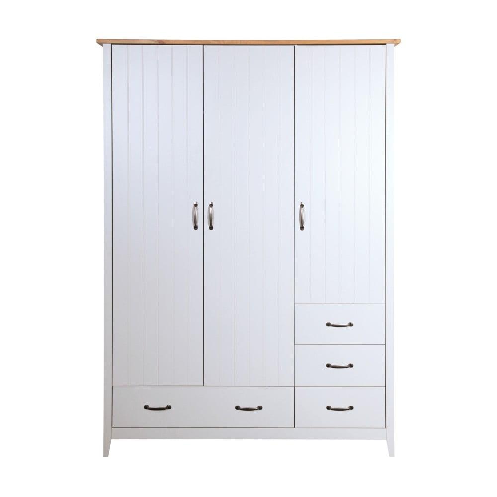 Biała szafa Steens Norfolk, 192x142 cm