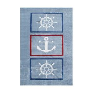 Niebieski dywan dziecięcy Anchor, 120x180cm