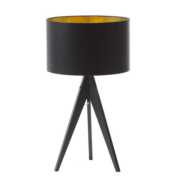 Lampa stołowa Artist Black Golden/Birch, 40x33 cm