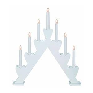 Biały świecznik LED Best Season Annie