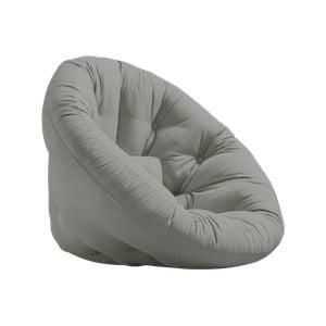 Fotel rozkładany Karup Design Nido Grey