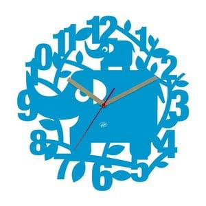 Zegar ścienny Ellie Elephant, 34 cm
