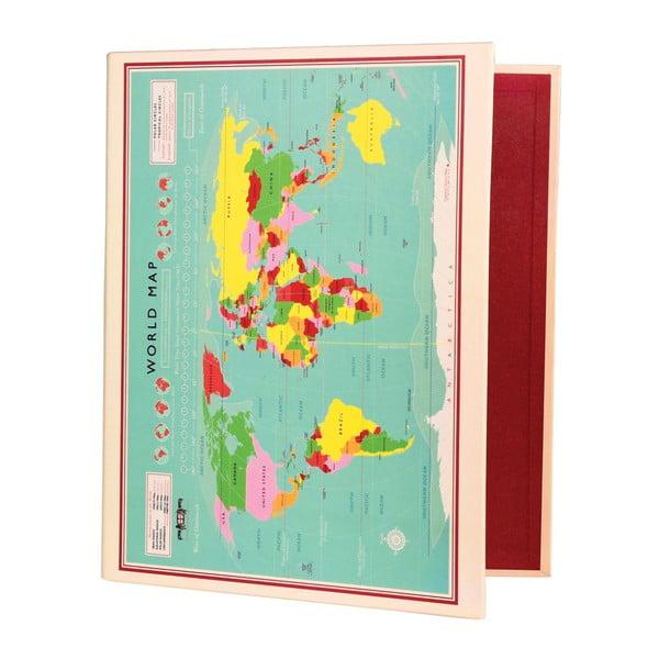 Segregator Rex London World Map, 32x26 cm