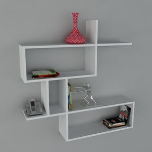 Półka Montera Book White, 22x100x107,2 cm