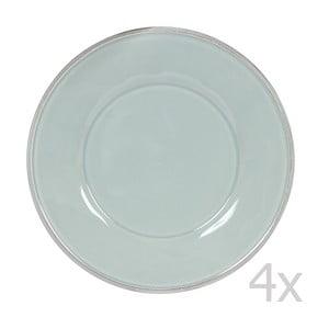 Zestaw 4 talerzy Constance Sea Green, 28.5 cm