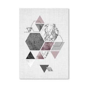 Plakat Geometric Hexagons