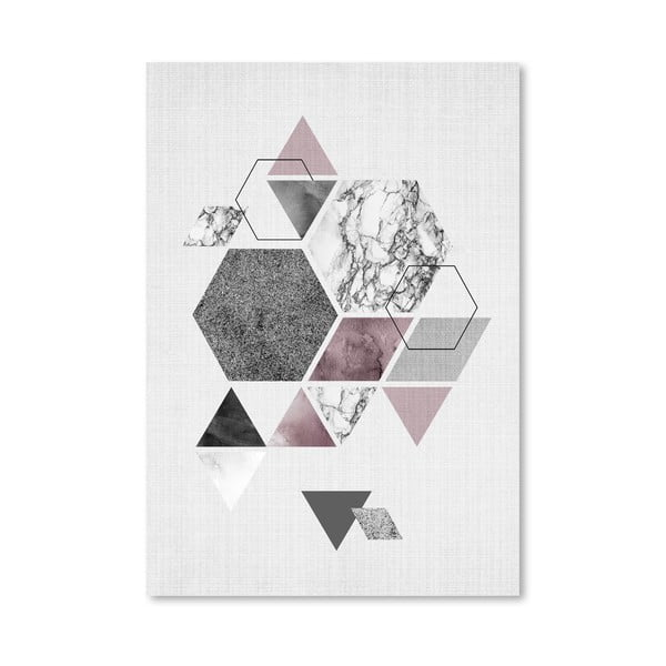 Plakat Geometric Hexagons