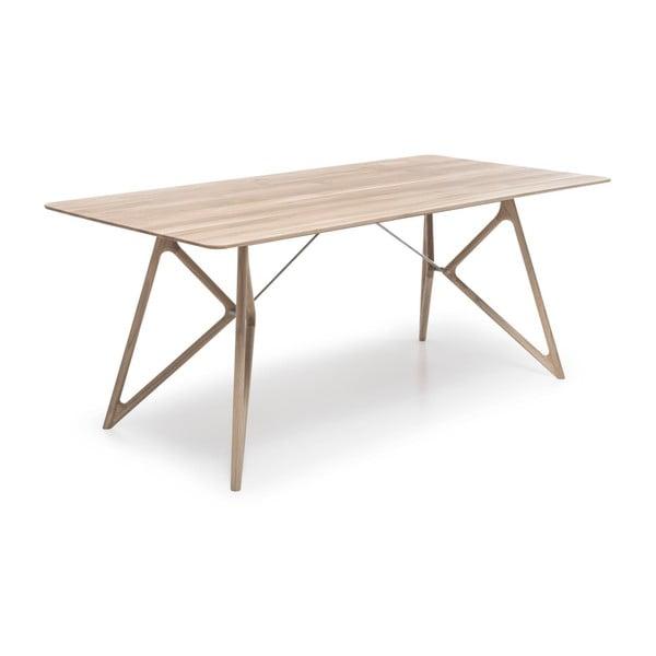 Stół dębowy do jadalni Tink Oak Gazzda, 160cm, naturalny, jasny
