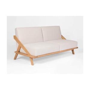 Sofa z drewna dębowego Ellenberger design Nordic Space